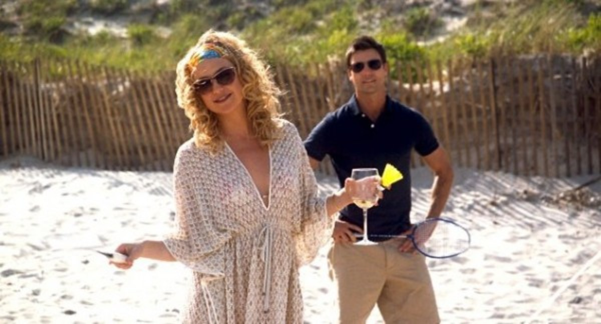 Kate Hudson and Colin Egglesfield in Something Borrowed.