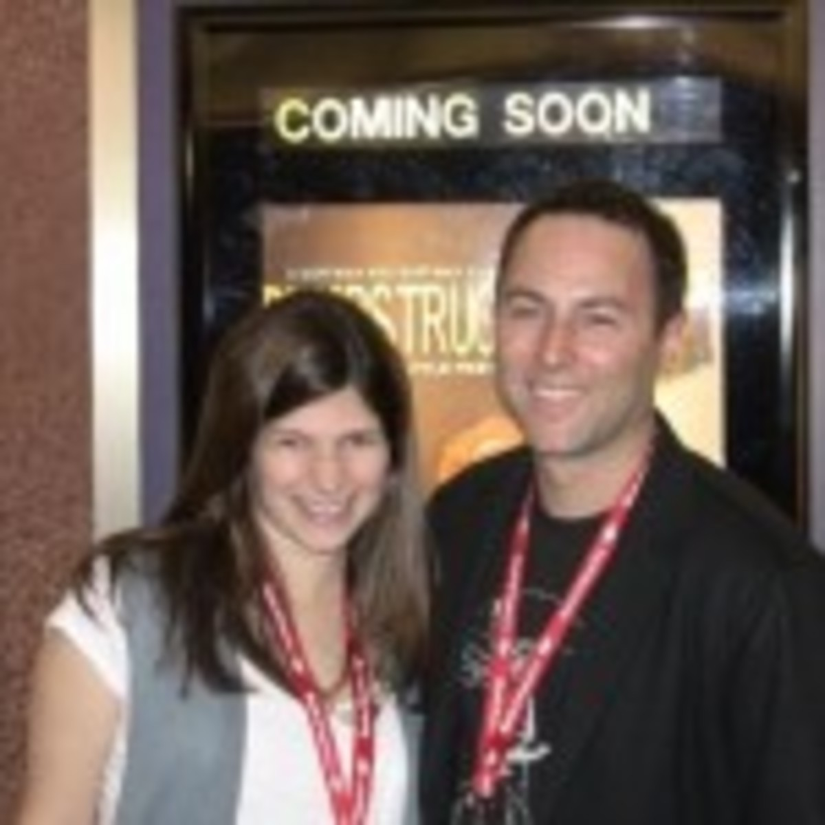 Mark Goffman and his producing partner and wife Lindsay Goffman.