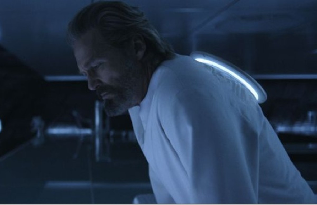 "Jeff Bridges channels his inner ""Dude"" in Tron: Legacy."