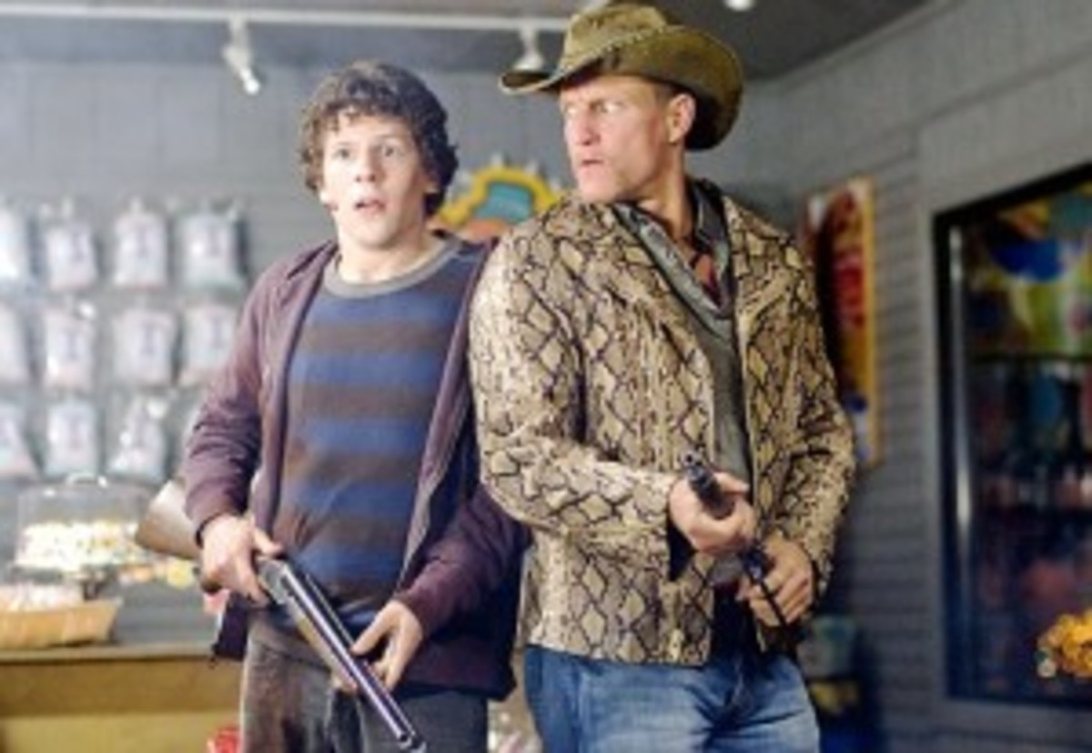 Jesse Eisenberg and Woody Harrelson in ZOMBIELAND (AP Photo/Columbia Pictures, Greg Wilson)