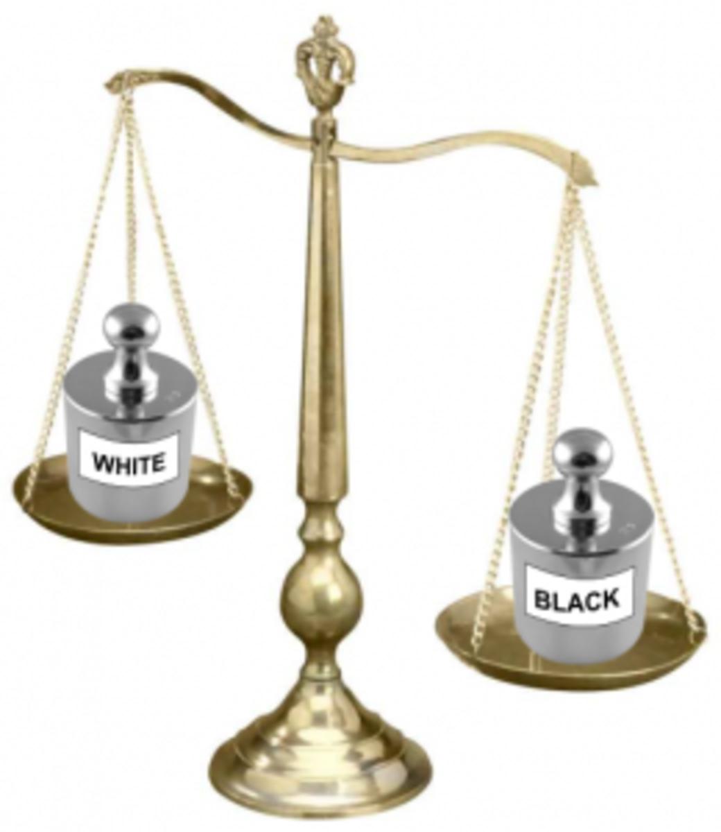 Black white imbalance