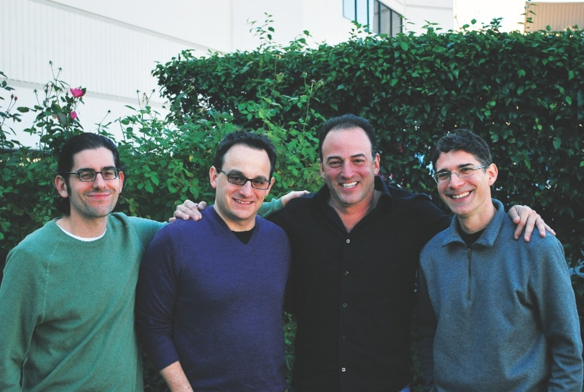 Left to right: Adam Abraham, Michael Weiner, Marc Madnick, and Eric R. Cohen