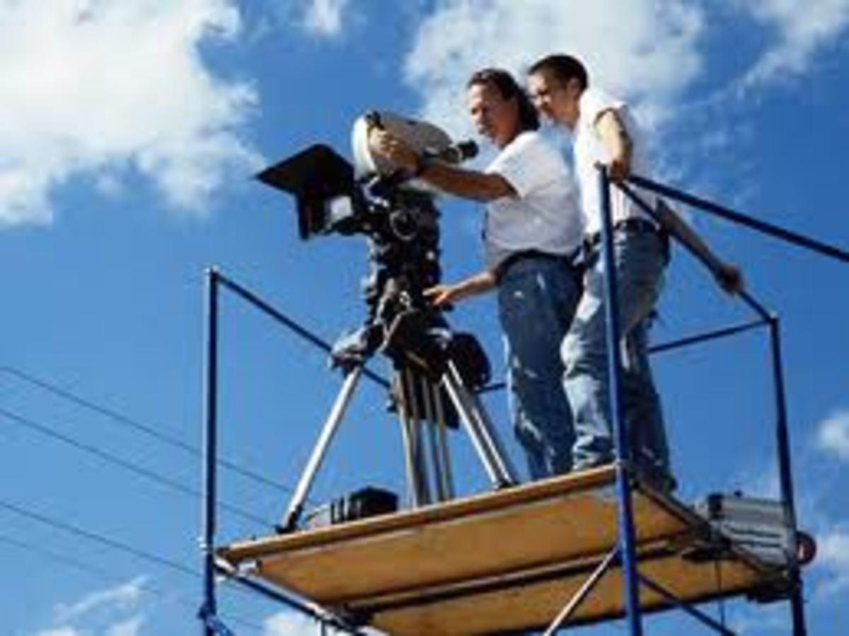 platform camera production assistant