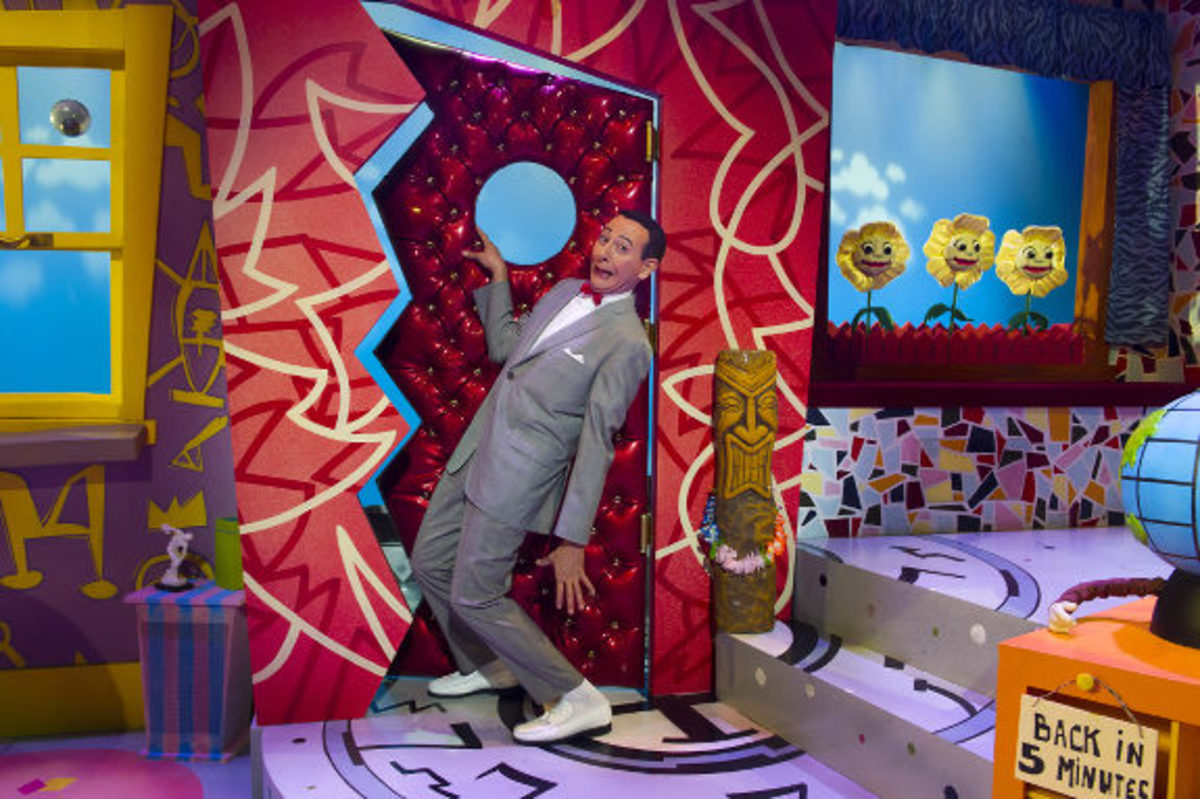 """The Pee-wee Herman Show"" on Broadway"