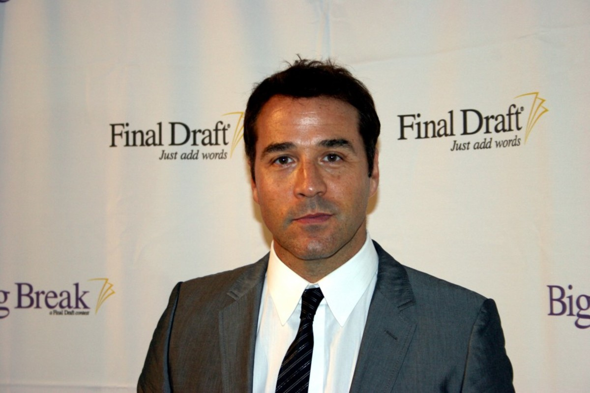 Actor Jeremy Piven (Entourage).