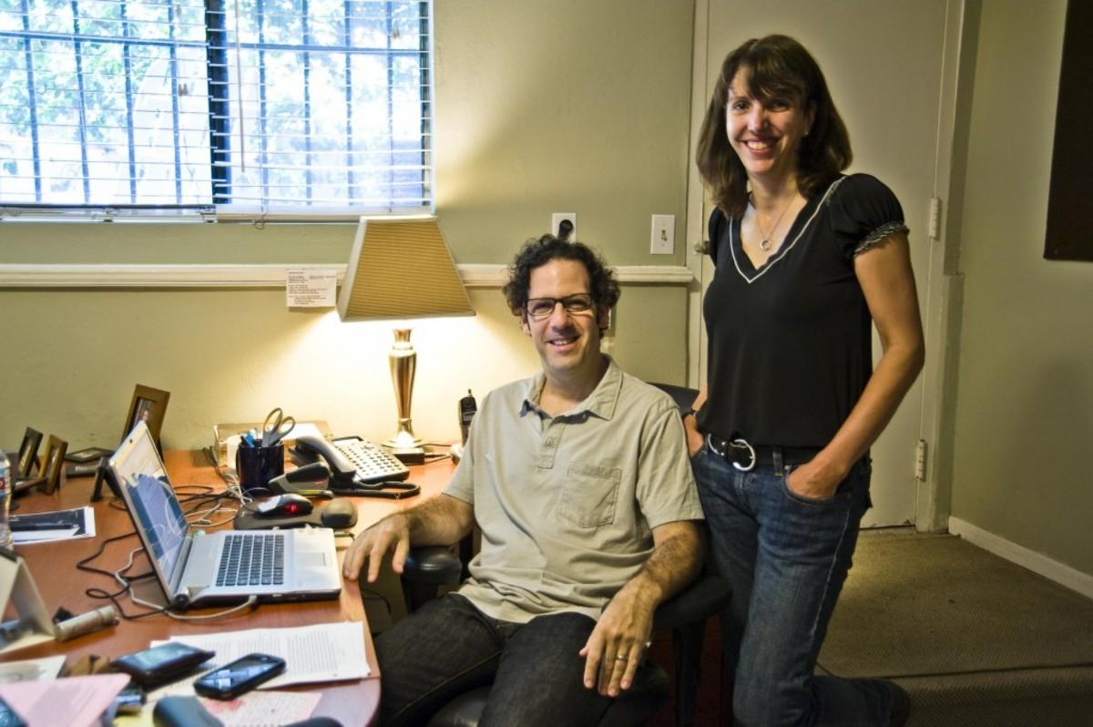 Ian Deitchman and Kristin Rusk Robinson