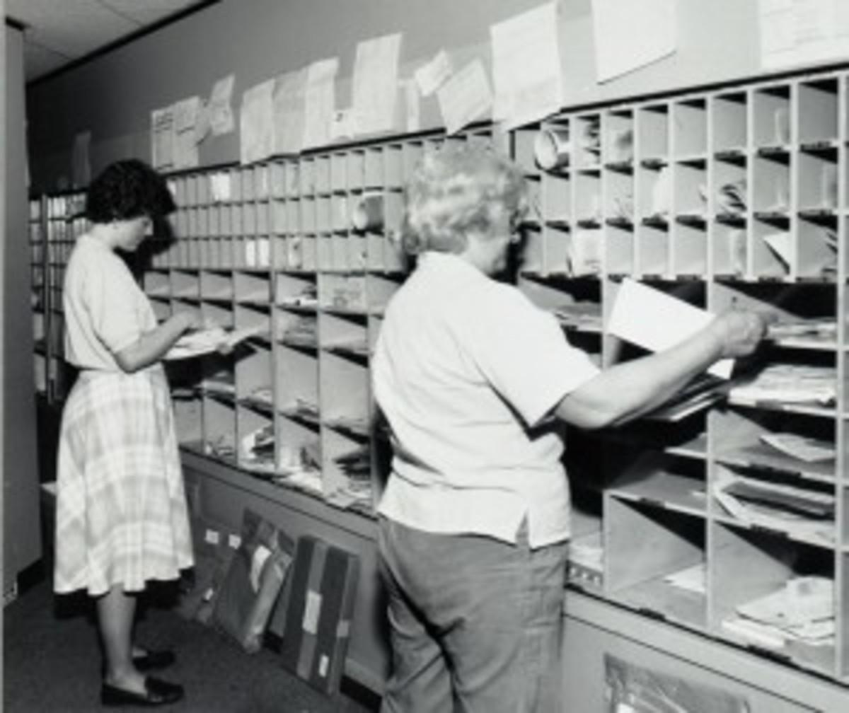 mailroom