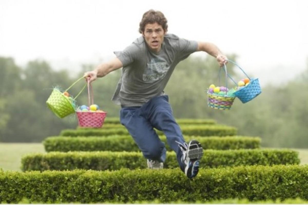 James Marsden stars in Hop.