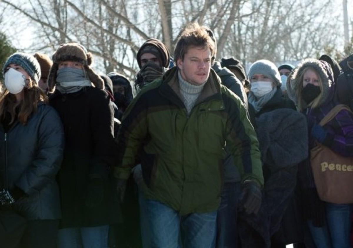 Matt Damon in Contagion.
