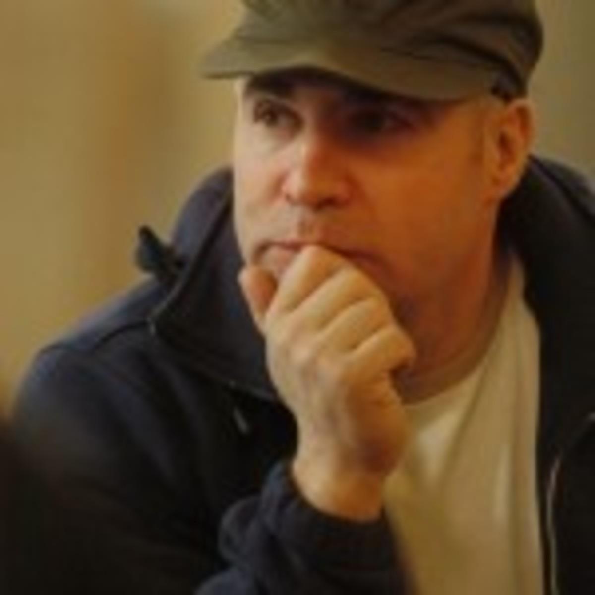 Screenwriter Scott Burns.