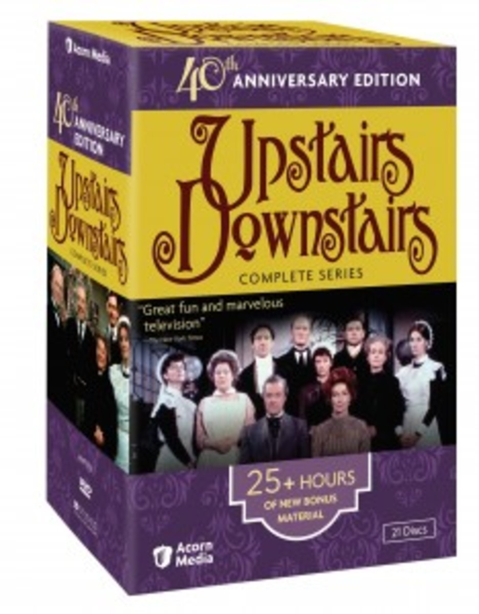 Upstairs Downstairs Complete Series 40th Anniversary Edition DVD cover2