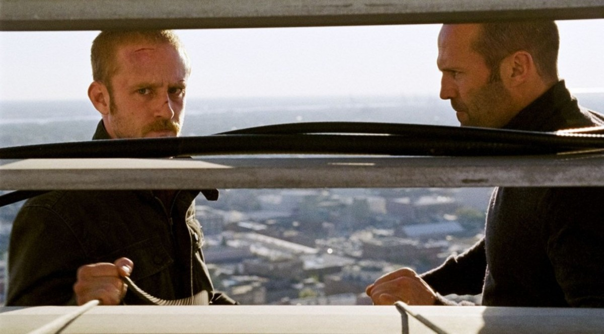 Ben Foster (left) and Jason Statham star in the remake of The Mechanic.