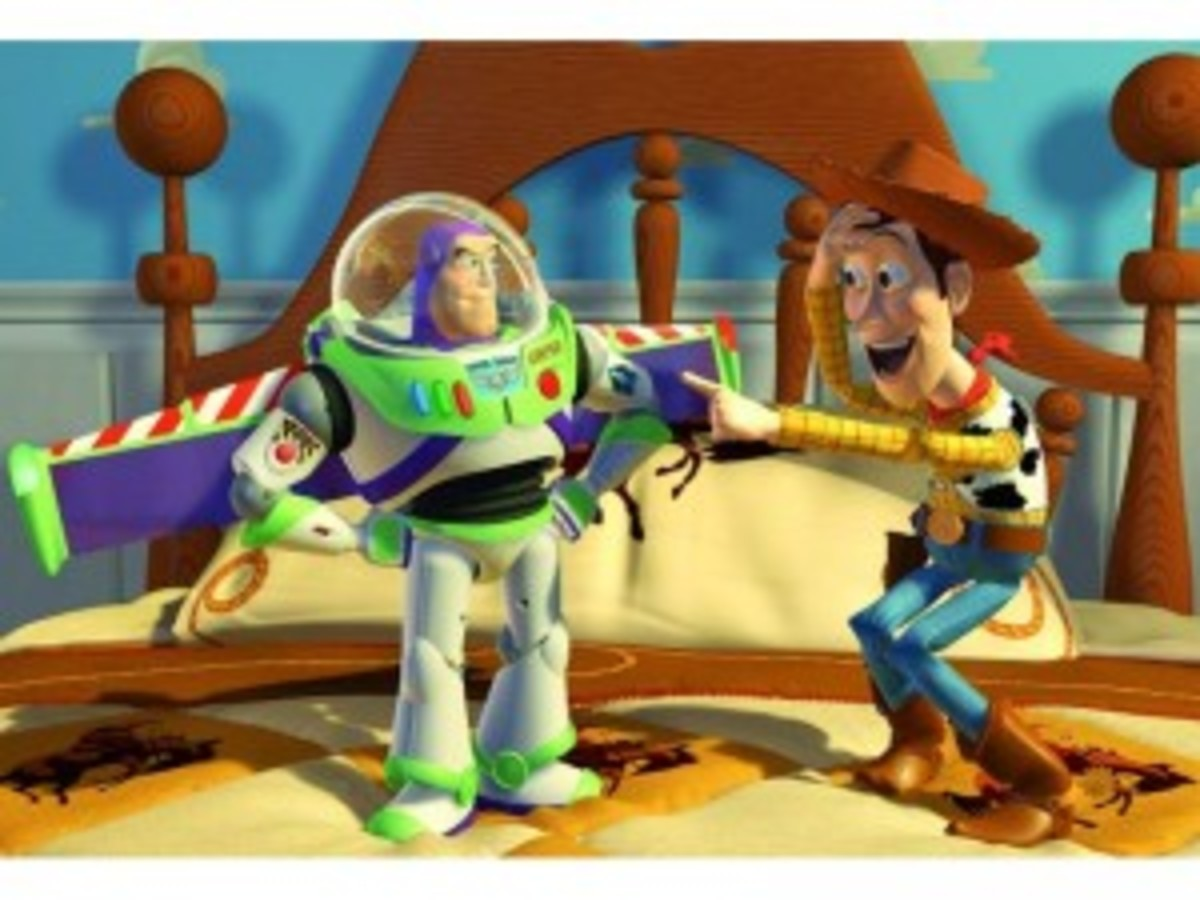 Buzz versus Woody: the dramatic heart of Toy Story