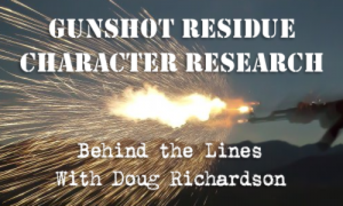 Gunshot Residue Character Research