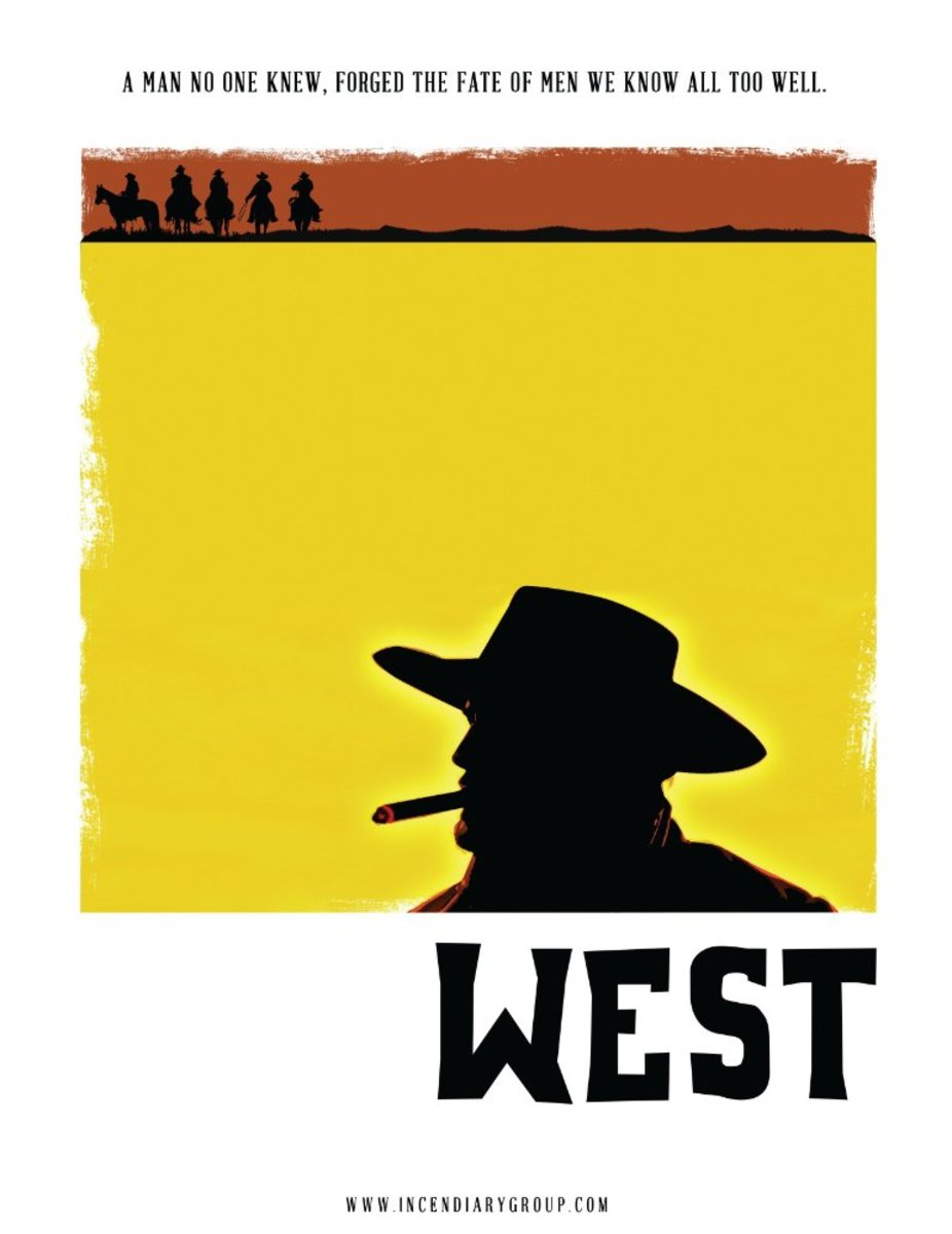 WEST Poster. © Image by Incendiary Group