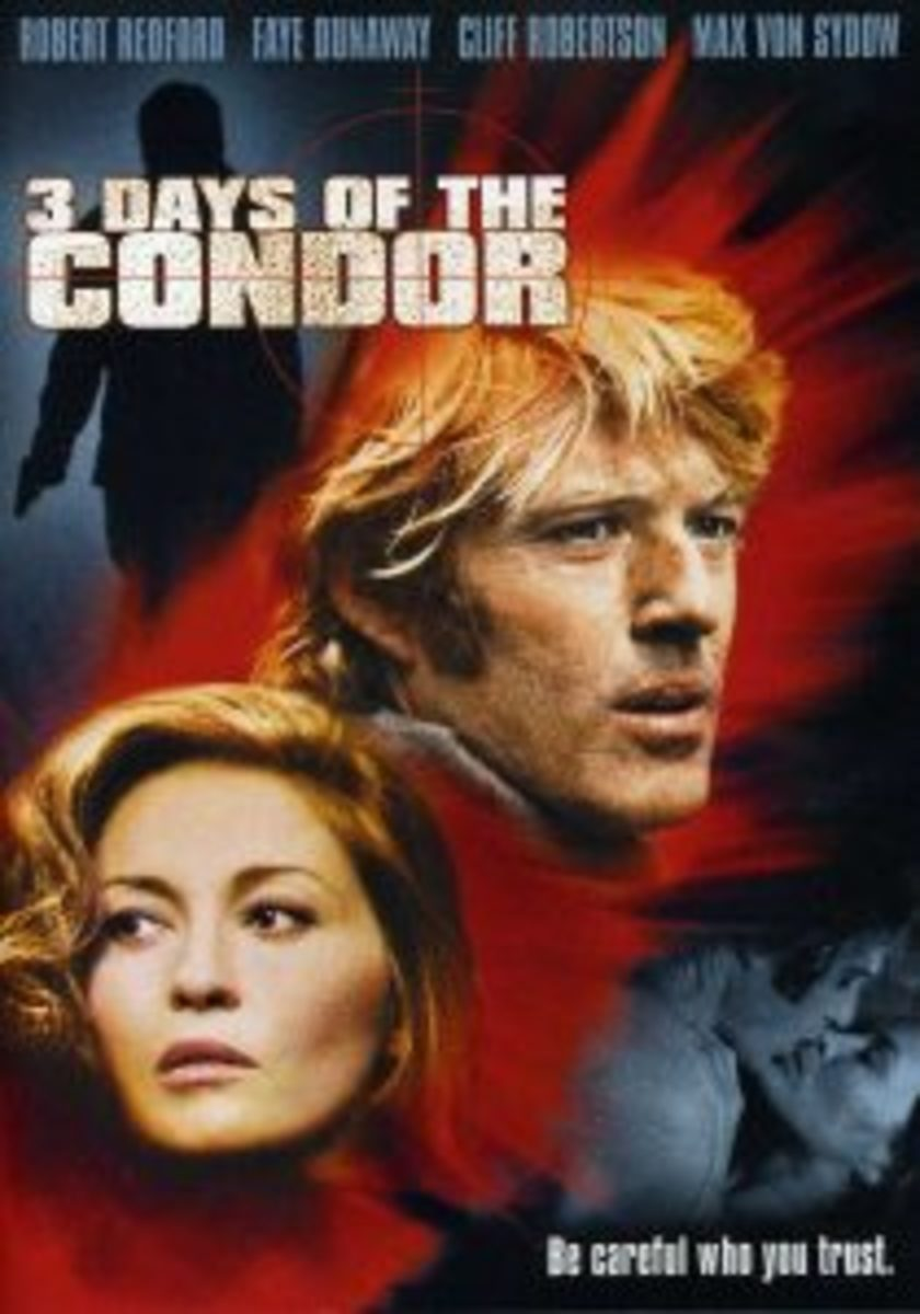 High Concept 3 Days of the Condor