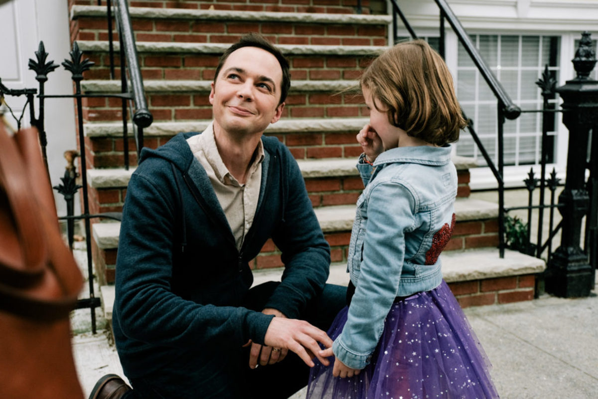 Jim Parsons as Greg Wheeler, and Leo James Davis as Jake Wheeler in A KID LIKE JAKE, Photo by JON PACK, Courtesy of IFC Films.jpg