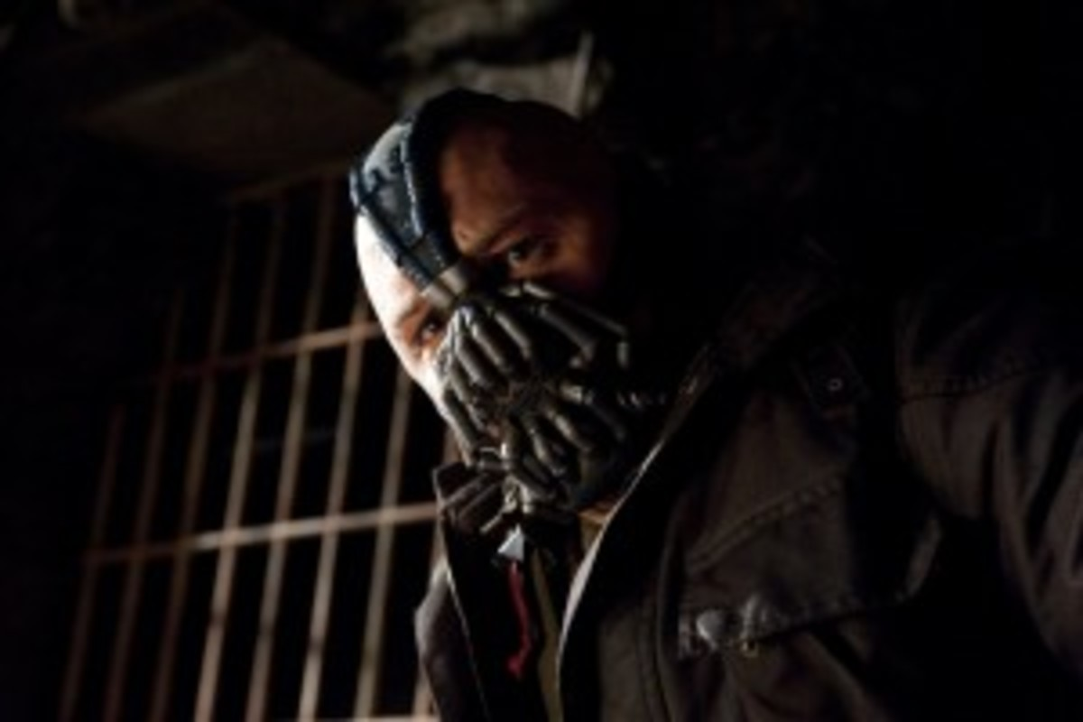 Bane reflects premise in The Dark Knight Rises