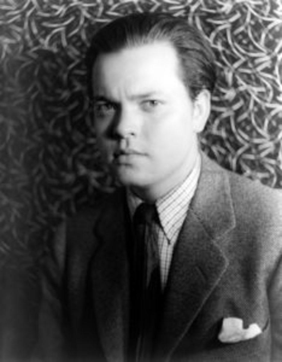 Orson Welles in 1937, by Carl Van Vechten.