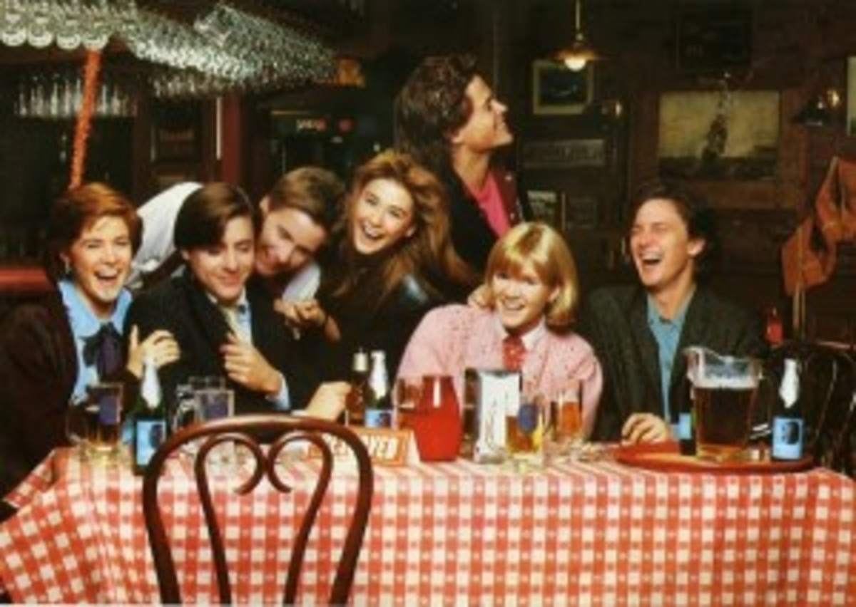 A cast full of reflection characters attempts to bridge the gap between college and adulthood in St. Elmo's Fire.