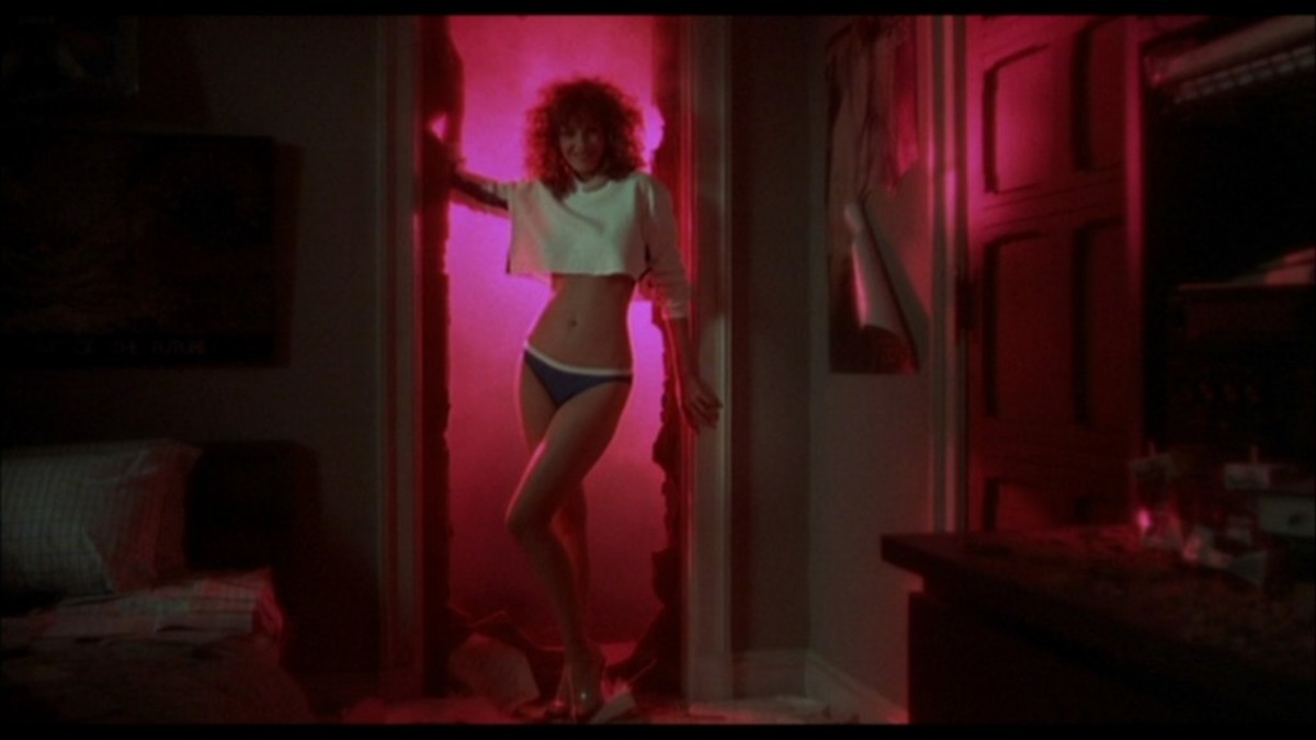 Two high school boys create their idea of the perfect woman, who changes their lives forever, in Weird Science.