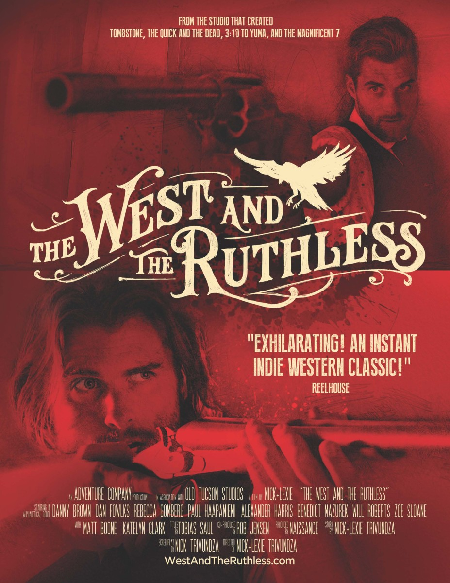 The West And The Ruthless Poster. © Image by Naissance