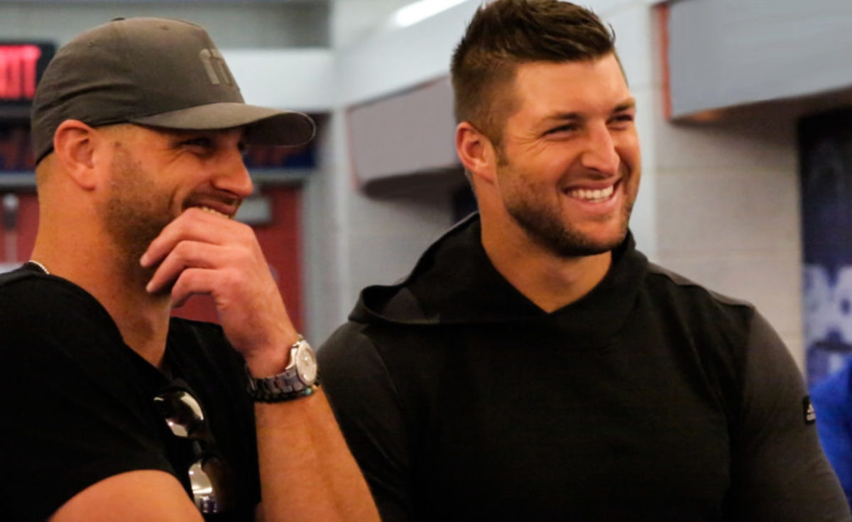 Producers Robbie and Tim Tebow