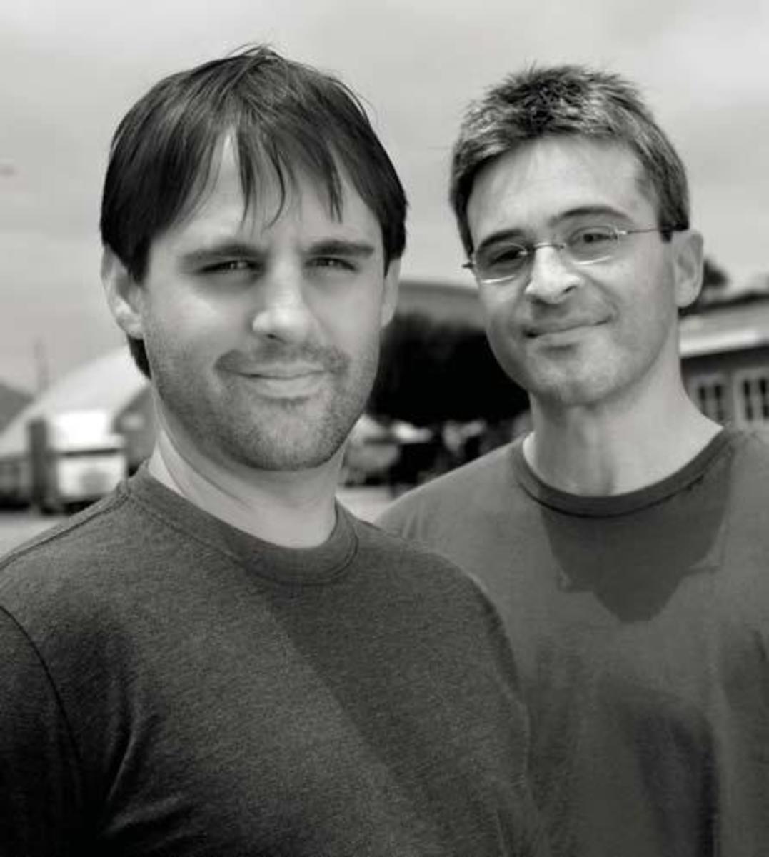 Roberto Orci and Alex Kurtzman PHOTO Olaf Heine