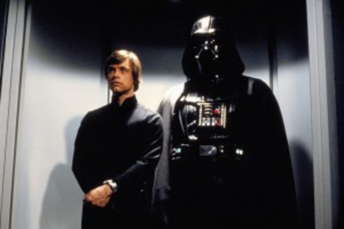 As the Emperor takes over the role of antagonist, Darth Vader shapeshifts into a reflection character for Luke in Star Wars: Return of the Jedi.
