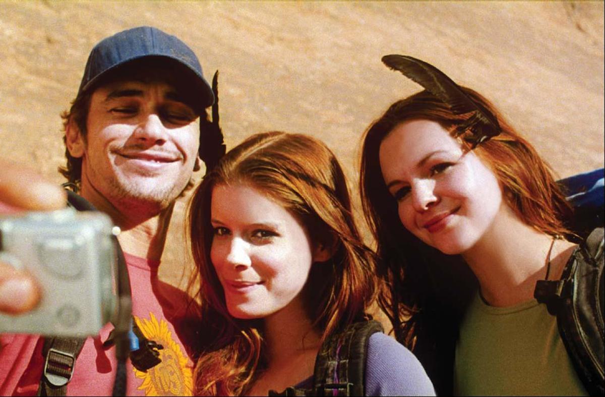 Franco, Kate Mara as Kristi, and Amber Tamblyn as Megan