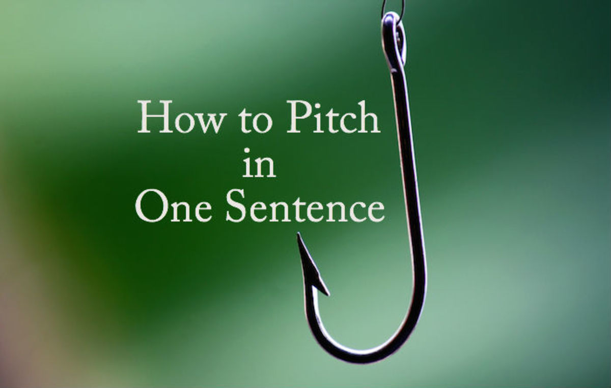 WRITER'S EDGE: Logine - How to Pitch in One Sentence