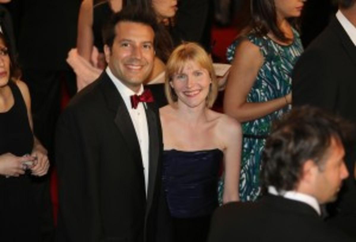 Kevin and Rebecca at the 'La Vie D'Adele' premiere