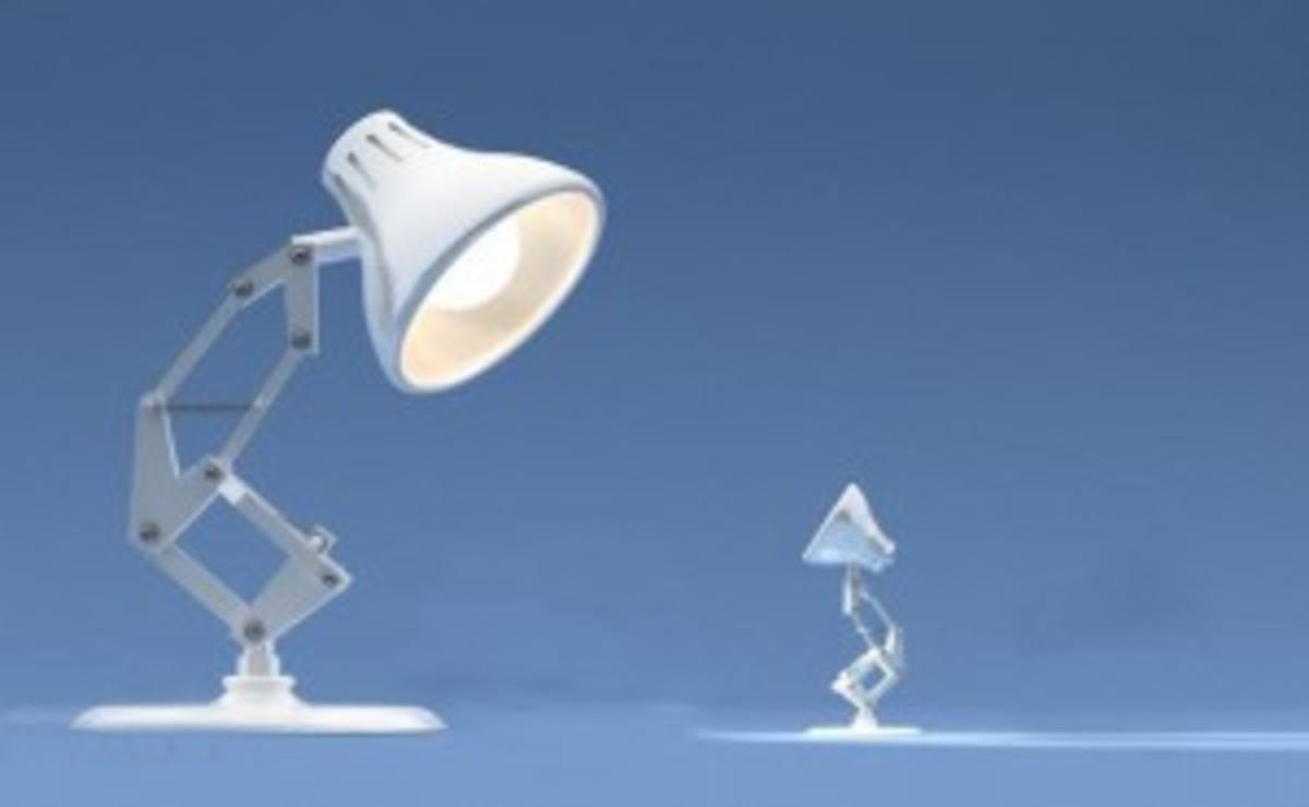 Pixar's Luxo Junior & Senior