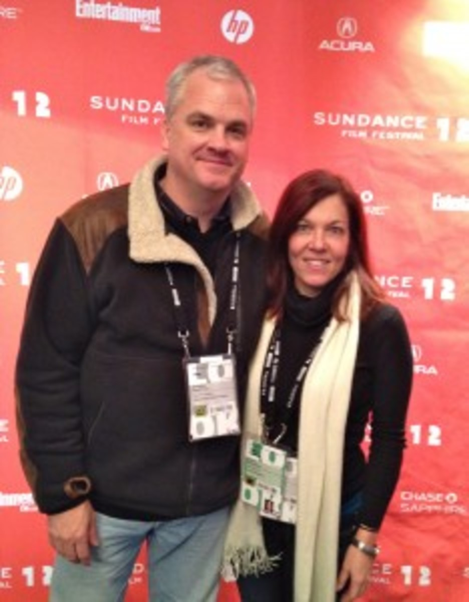 Blackmon and Jeanne Veillette Bowerman at the Sundance Film Festival