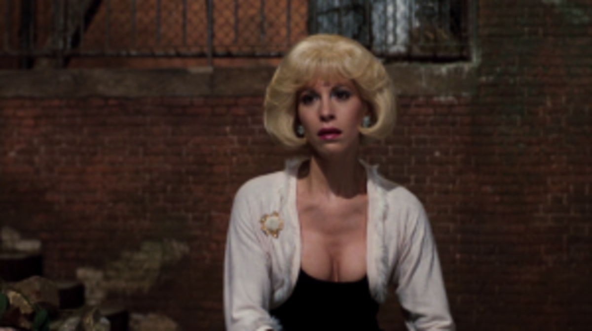 Audrey has serious self-esteem issues in Little Shop of Horrors.