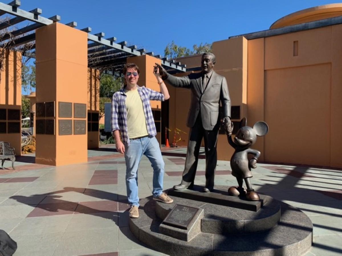 Sebastian Magiera at Disney