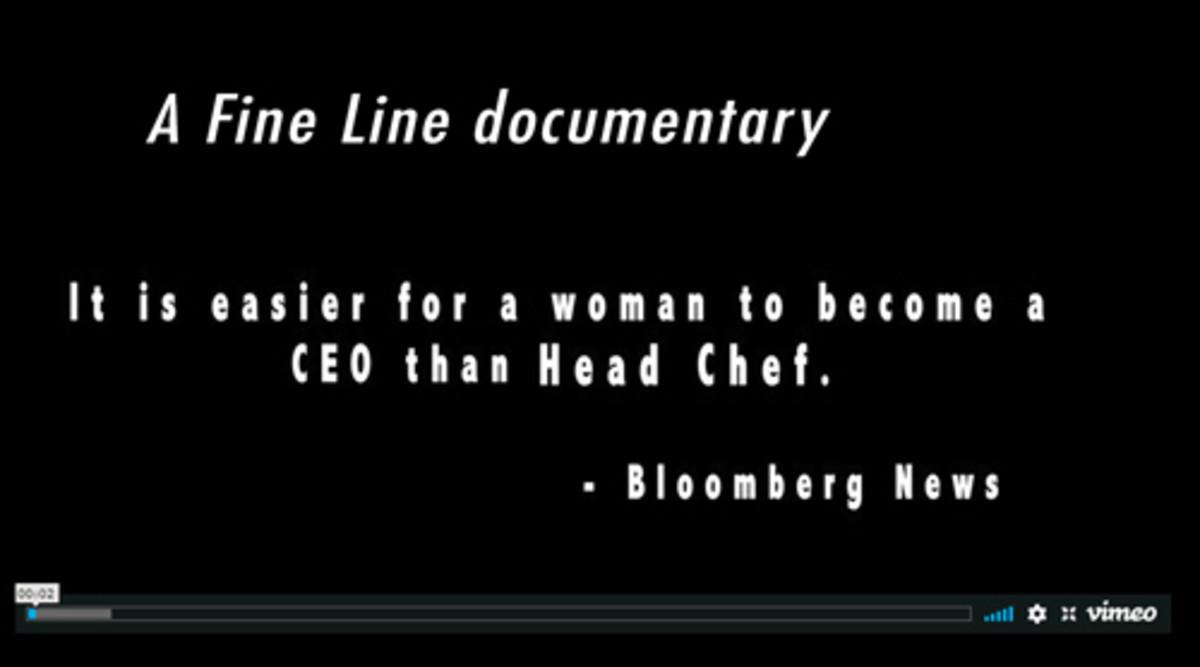 A Fine Line documentary film - Women Chefs