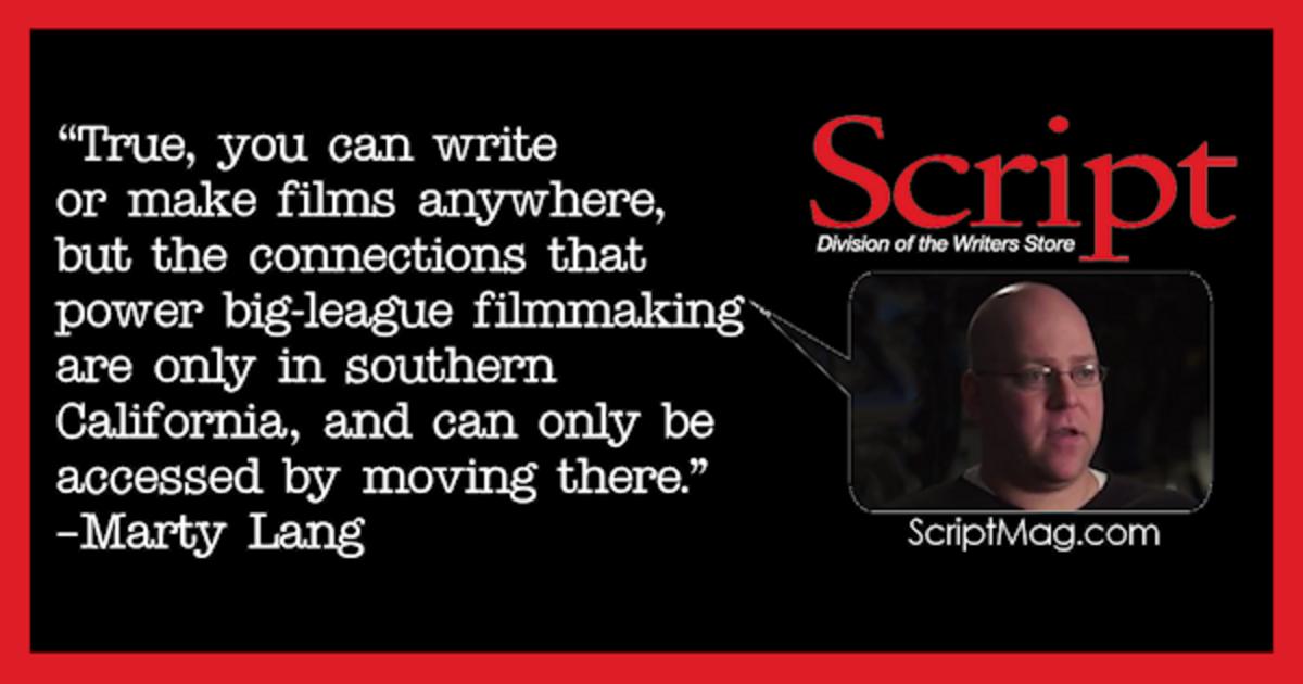 Marty Lang screenwriting