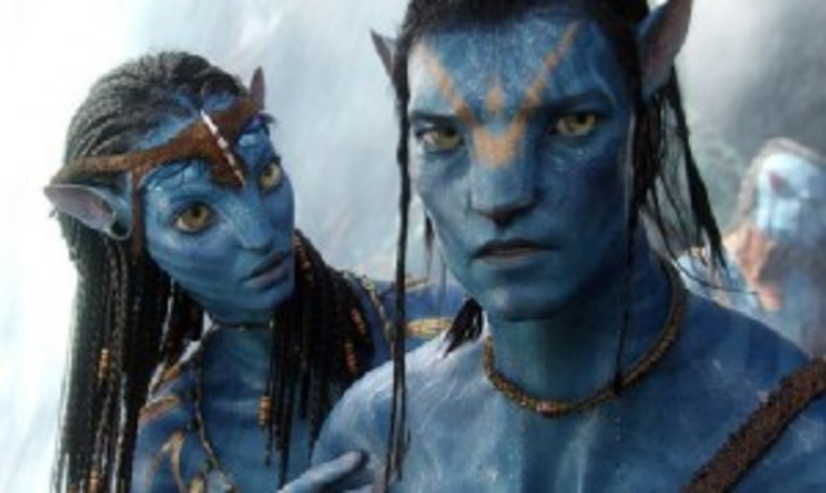 Neytiri sets Jake Sully's heart on the right path in Avatar.