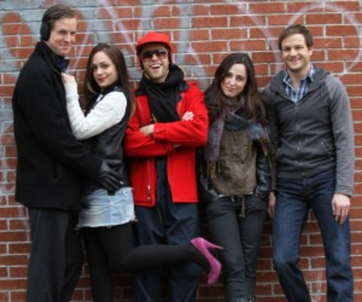 The cast of SEEKING SUBLET