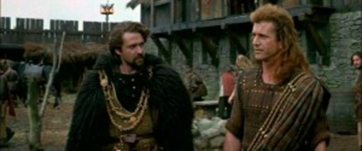 Robert The Bruce is the protagonist, while William Wallace serves as his mentor and the central character in Braveheart.
