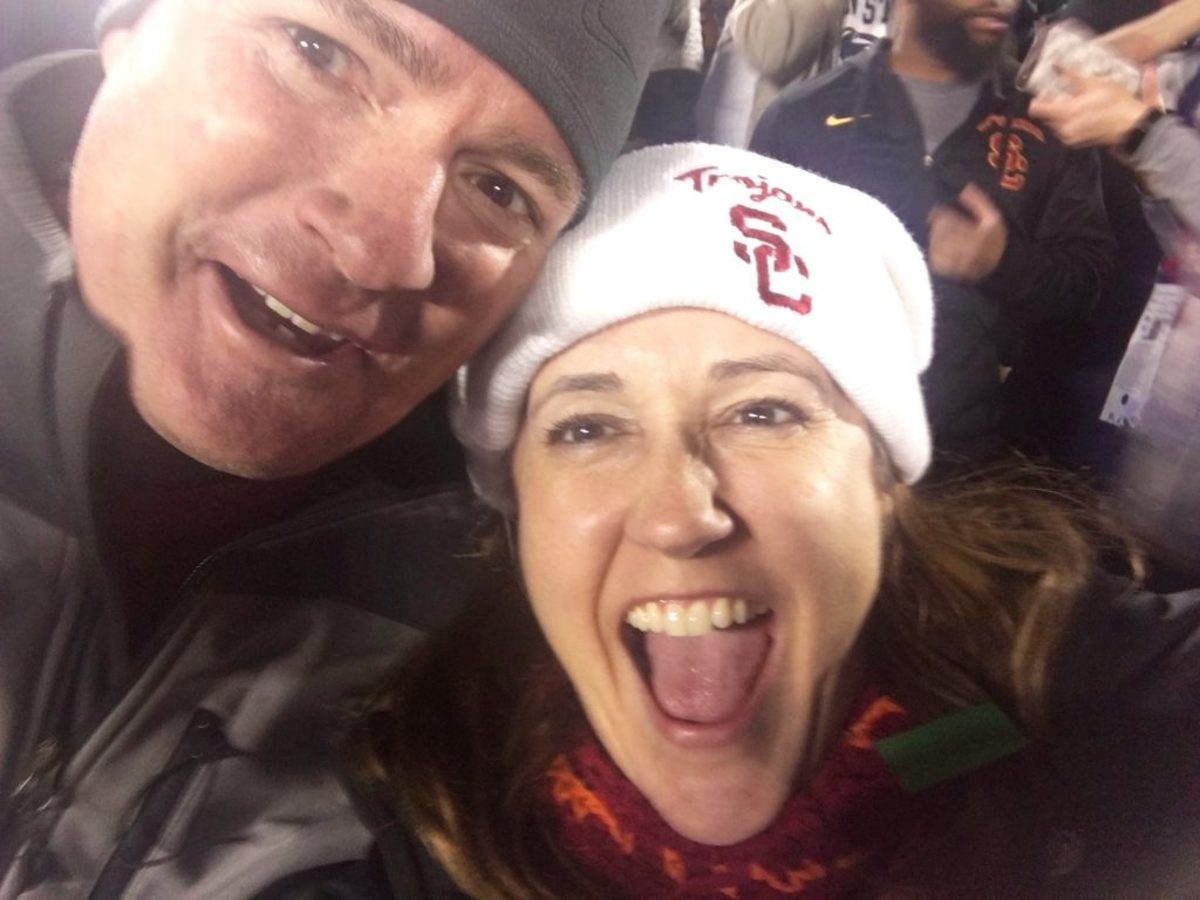 Celebrating USC's last second Rose Bowl win with Andy (and a lesson in never giving up!)