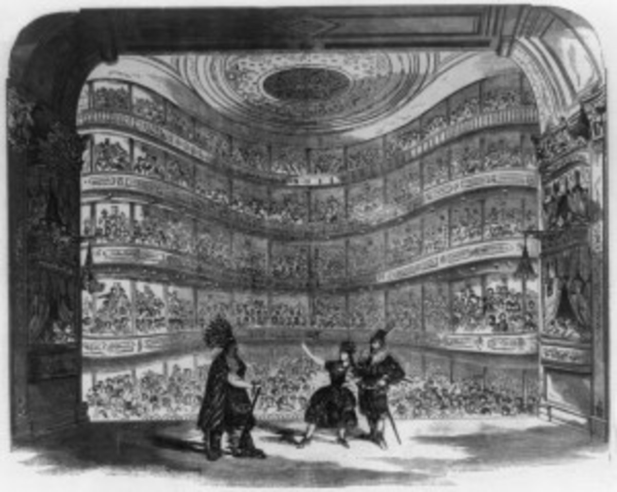 Spectacle at the Bowery Theatre 19th Century