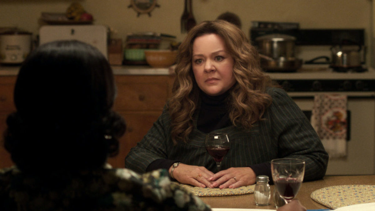"MELISSA McCARTHY as Kathy Claire in New Line Cinema's mob drama ""The Kitchen,"" a Warner Bros. Pictures release. Photo Credit: Courtesy of Warner Bros. Pictures"