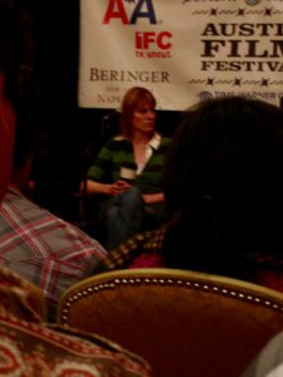 Jessica Bendinger on panel