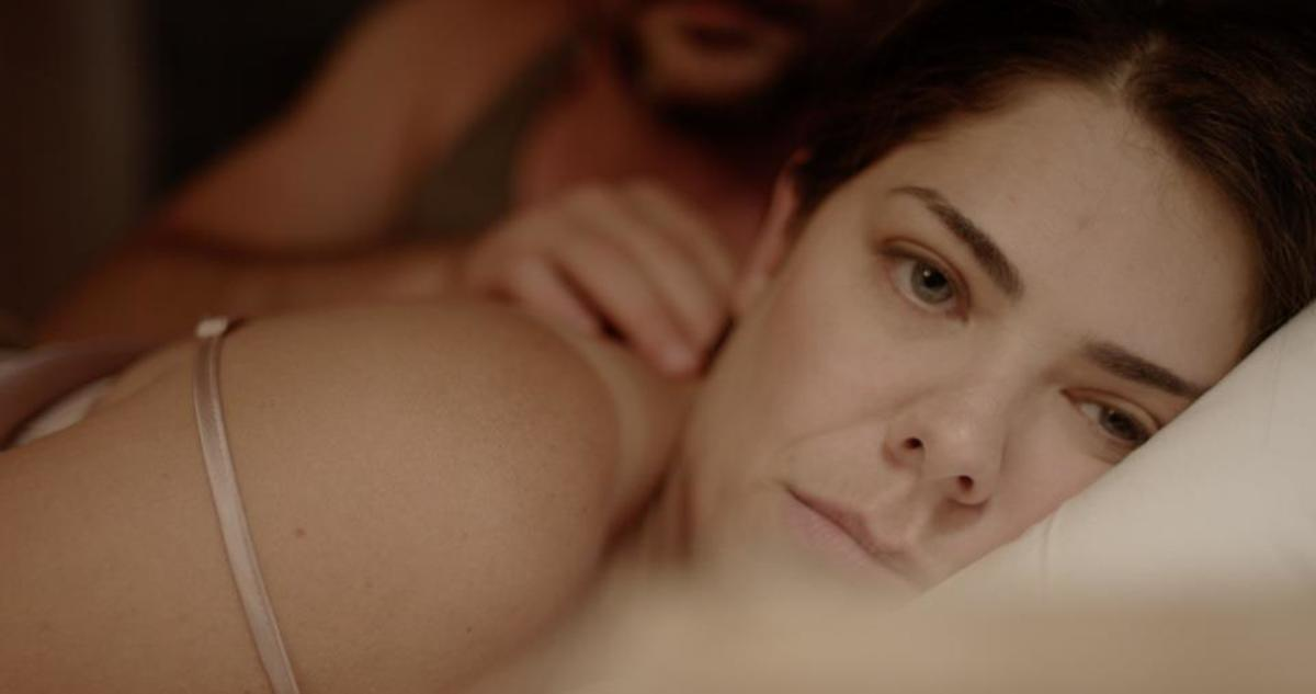 Still shot from 'Impasse' - John T. Woods and Jennifer Fontaine. Directed by Michael Bekemeyer