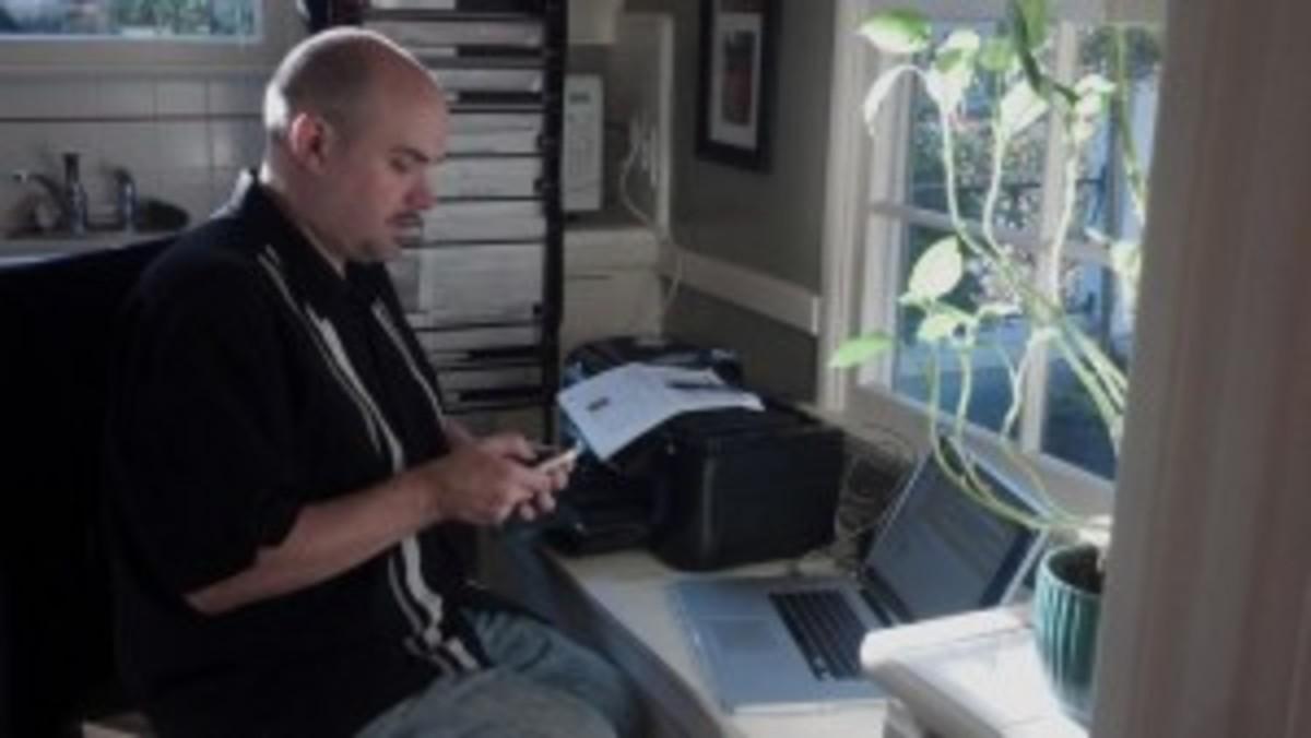 Line Producer Mark Demarias