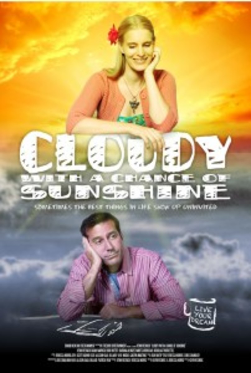Filmmakers and writers Kevin Resnick and Rebecca Norris discuss the challenges of independent filmmaking and their new film 'Cloudy with a chance of Sunshine.'