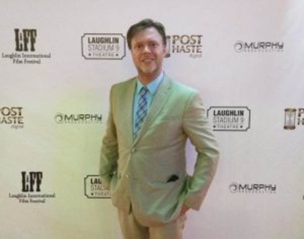 Nick Thurkettle at the Laughlin International Film Festival