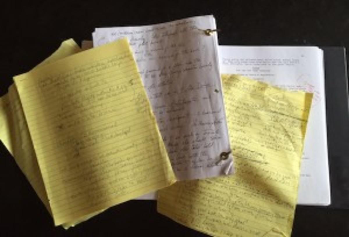 screenplay feedback